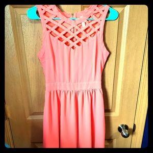 • Pink Dress •